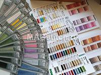 мулине MADEIRA все хлопковые цвета 369 шт+ КАРТА цветов хлопок + КАРТА цветов Металлик