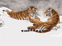 Набор для вышивки крестом Тигры