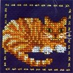 Набор для вышивки крестом Рыжий кот