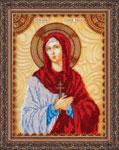 Святая София именная икона - вышивка бисером