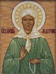 Набор для вышивки крестом Икона Святой Блаженной Матроны