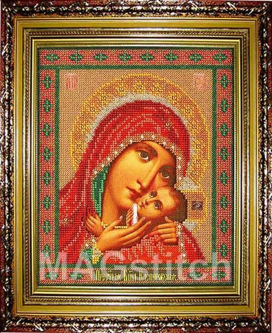 Вышивка крестом пресвятая богородица касперовская