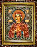 Набор для вышивки бисером Богородица Умягчение Злых Сердец икона - вышивка бисером