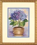 Набор для вышивки крестом Hydrangea in bloom - Гортензия в цвету