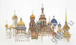 """Набор для вышивки крестом Набор для вышивания """"Санкт-Петербург"""""""