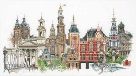 """Набор для вышивки крестом Набор для вышивания """"Амстердам"""""""