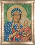 Набор для вышивки крестом Икона Мадонна