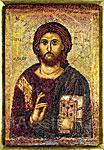 Набор для вышивки крестом Античная икона Господь Вседержитель (1393 г)