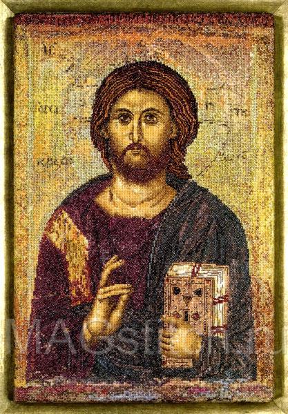 Античная икона Господь