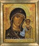 Набор для вышивки крестом Античная икона Казанская