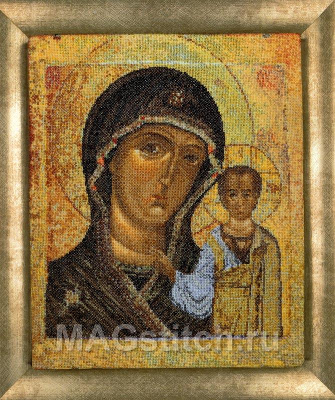 Античная икона Казанская