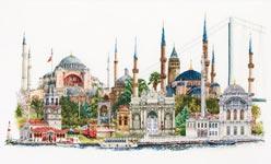 """Набор для вышивки крестом Набор для вышивания """"Стамбул"""""""