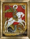 Набор для вышивки крестом Античная икона Георгий Победоносец (начало 15 века)