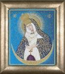 Набор для вышивки крестом Остробрамская икона Божией Матери