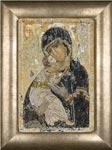 Набор для вышивки крестом Владимирская Икона Божией Матери