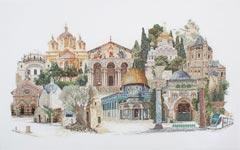 """Набор для вышивания """"Иерусалим"""""""
