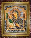 Набор для вышивки бисером Богородица Иерусалимская икона - вышивка бисером