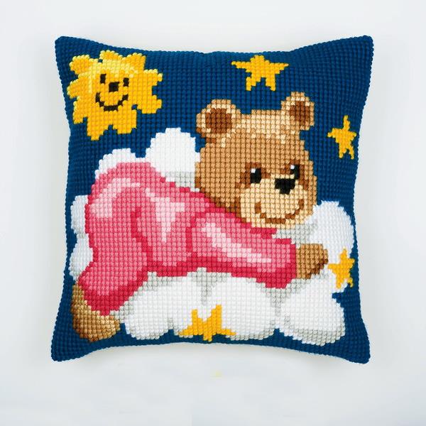 Детские вышивки крестом для подушек