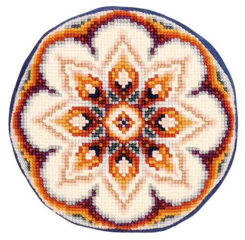 Бесплатно круглая вышивка крестом