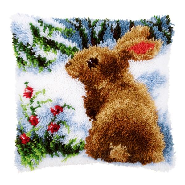 "в снегу"" ковровая техника"