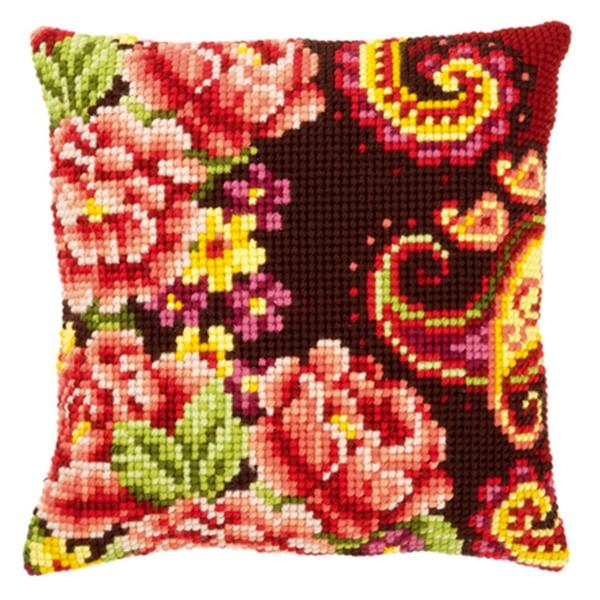"""Подушка для вышивания """"Пионы"""