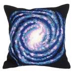 """Набор для вышивки крестом Подушка для вышивания """"Вселенная"""""""