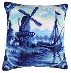 """Набор для вышивки крестом Подушка для вышивания """"Голандские мотивы 1"""""""
