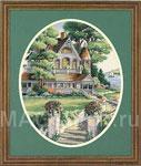 Набор для вышивки крестом Lovely Victorian Home - Милый викторианский дом