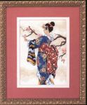Набор для вышивки крестом Mai - Маи / Японка
