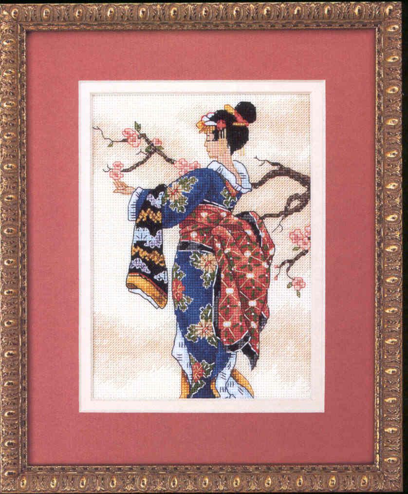 Как оформить китайскую вышивку
