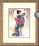 Набор для вышивки крестом Elegant Geisha - Элегантная гейша