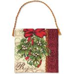 Набор для вышивки крестом Mistletoe Ornament - Белая Омела