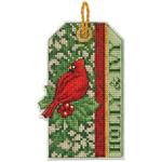 Набор для вышивки крестом Holly and Ivi Ornament - Падуб и плющ