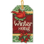 Набор для вышивки крестом Winter Song - Зимняя песня