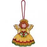 Набор для вышивки крестом Sw Angel Ornament - Украшение Ангел