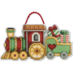 Набор для вышивки крестом Train Ornament - Поезд