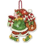 Набор для вышивки крестом Elf Ornament - Украшение Эльф орнамент