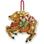 Набор для вышивки крестом Reindeer Ornament - Северный олень