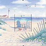 Набор для вышивки крестом Beach Retreat  - Пляж