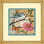 Набор для вышивки крестом Bird Poste - Птичья почта