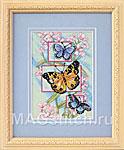 Набор для вышивки крестом Blossoms and Butterflies - Бутоны и бабочки