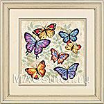Набор для вышивки крестом Butterfly Profusion - Изобилие бабочек