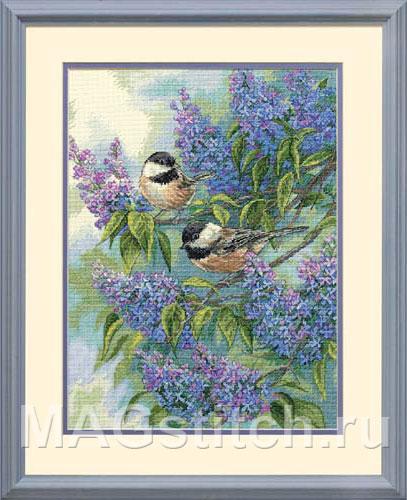 Lilacs - Синицы и сирень