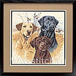 Набор для вышивки крестом Great Hunting Dogs  - Охотничьи собаки