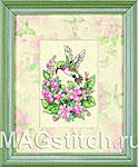 Набор для вышивки крестом Hummingbird Bliss - Счастье колибри