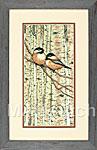 Набор для вышивки крестом Love Birds - Влюбленные пташки
