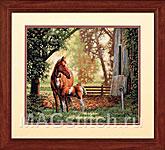 Набор для вышивки крестом Mare and Foal - Лошадь с жеребенком