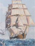 Набор для вышивки крестом Clipper Ship Voyage - Морское путешествие