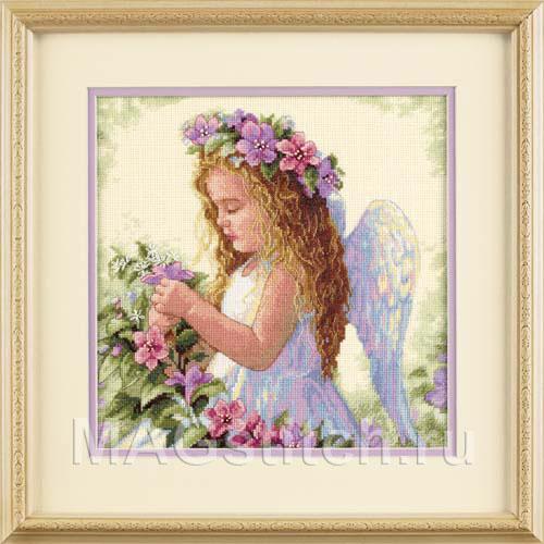 Ангел мира вышивка