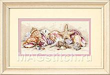 Набор для вышивки крестом Seashell Treasures - Морские сокровища